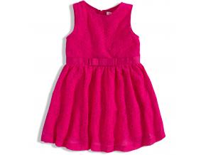 Čipkové dievčenské šaty MINOTI RAINFOREST ružové