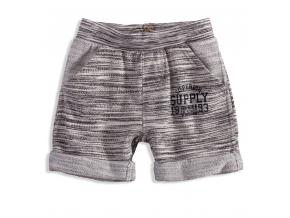 Detské úpletové krátke nohavice DIRKJE SUPERIOR šedé