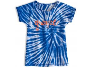Dievčenské tričko KNOT SO BAD GRATEFUL modré