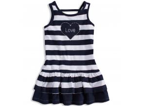 Dievčenské šaty LOSAN LOVE tmavomodré