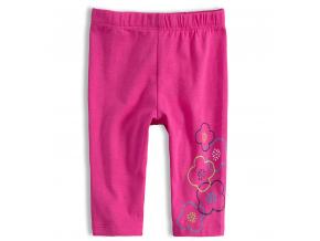 Dievčenské legíny LOSAN KVETY ružové