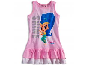 Dievčenské letné šaty SHIMMER & SHINE SHINE ružové