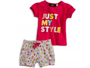 Dievčenské pyžamo KNOT SO BAD MY STYLE ružové
