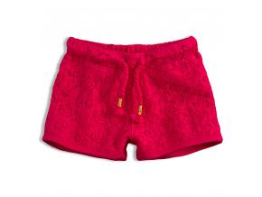 Dievčenské čipkové šortky KNOT SO BAD LACE ružové