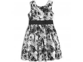 Dievčenské letné šaty MINOTI MIX čierne