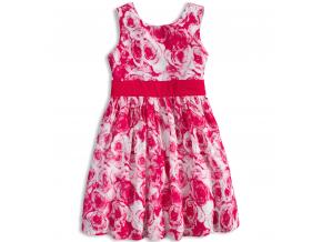 Dievčenské letné šaty MINOTI MIX ružové
