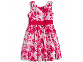 Dievčenské letné šaty MINOTI MIX ružové dc9ab964101