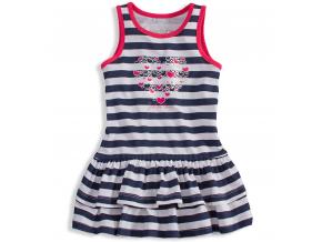 Dievčenské šaty LOSAN SAILOR LOVE modré