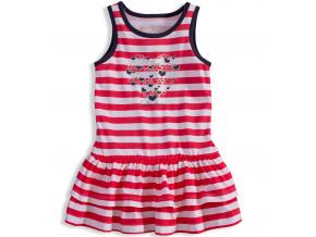 Dievčenské šaty LOSAN SAILOR LOVE červené