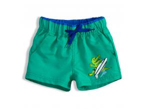 Chlapčenské plavky KNOT SO BAD CROCODILE zelené