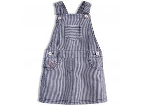 Dievčenská sukňa s trakmi KNOT SO BAD STAR prúžkovaná
