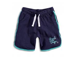 Chlapčenské šortky KNOT SO BAD ROAD TRIP modré
