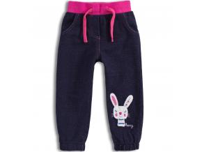Dievčenské nohavice Mix´nMATCH BUNNY ružový pás