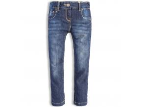 Dievčenské džínsy KNOT SO BAD tmavomodré
