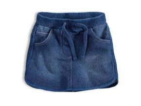 Dievčenská sukňa KNOT SO BAD WONDER modrá