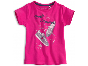 Dievčenské tričko KNOT SO BAD Accessories ružové