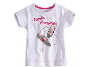 Dievčenské tričko KNOT SO BAD Accessories biele