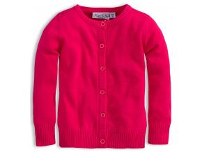 Dievčenský sveter KNOT SO BAD SRDCE ružový