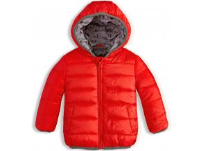 Dojčenská zimná bunda KNOT SO BAD oranžová