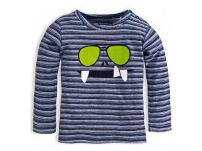 Chlapčenské tričko KNOT SO BAD GLASSES modré