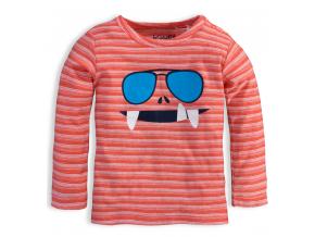 Chlapčenské tričko KNOT SO BAD GLASSES oranžové