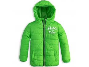 Chlapčenská bunda KNOT SO BAD HELLO zelená