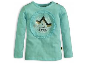 Dievčenské tričko DIRKJE LITTLE LADY zelené