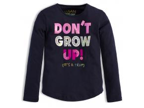 Dievčenské tričko LOSAN DON´T GROW modré