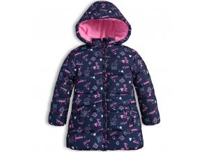 Zimná bunda pre dievčatká LOSAN LITTLE SPACE modrá