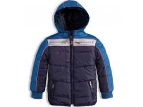 Chlapčenská zimná bunda KNOT SO BAD WINTER modrá