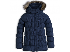 144974 dievcenska zimna bunda knot so bad heart tmavomodra