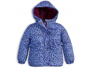 145040 dievcenska zimna bunda lemon beret potlac modra