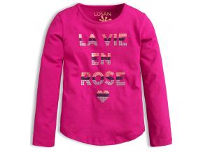 Dievčenské tričko LOSAN ROSE ružové