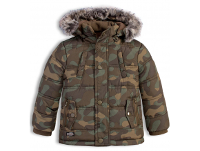 Detská zimná bunda LOSAN SNOWBOARD khaki