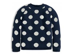 Dievčenský sveter KNOT SO BAD GIRLS STYLE modrý