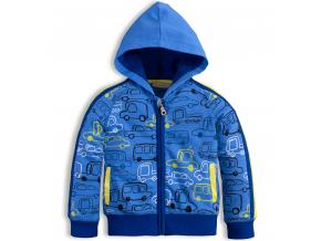 Detská mikina MixńMATCH CARS modrá