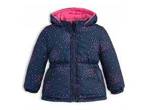 145355 detska zimna bunda lemon beret hviezdicky tmavo modra