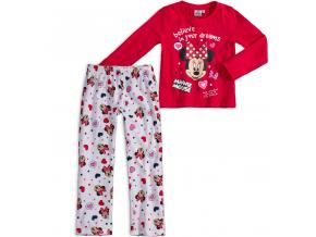 Dievčenské pyžamo DISNEY MINNIE DREAMS červené