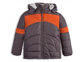 Chlapčenská zimná bunda HW FLIX šedá