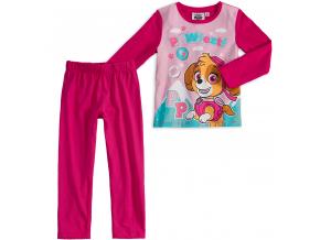 Dievčenské pyžamo PAW PATROL ružové
