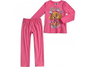 Dievčenské pyžamo PAW PATROL SKYE ružové