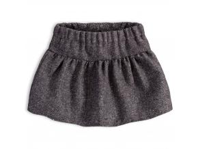 Dievčenská sukňa KNOT SO BAD PERFECT STYLE šedá