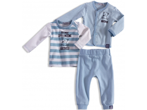 Dojčenská chlapčenská súprava  DIRKJE EVERY DAY modrá
