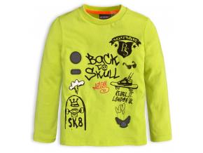 Chlapčenské tričko CANGURO SKATEBOARD zelené