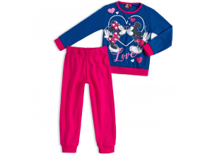 Dievčenské pyžamo DISNEY MICKEY MOUSE MICKEY a MINNIE modré