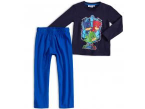 Chlapčenské pyžamo PJ MASKS HERO TIME modré