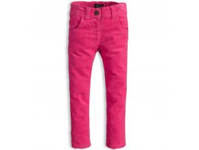 Dievčenské menčestrové nohavice MINOTI PINKY ružové