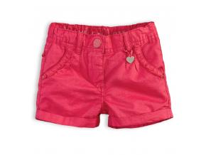 Dievčenské šortky KnotSoBad KNOT SO BAD ružové