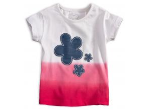 Dievčenské tričko KNOT SO BAD FIORE ružové