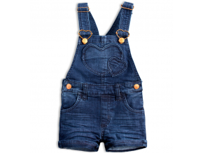 Dievčenské šortky s trakmi KNOT SO BAD COOLEST modré